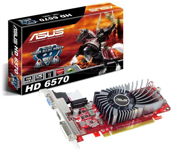 بيع Asus HD 6570 1Go GDDR3