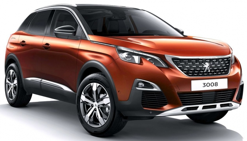 peugeot 3008 allure a t 2017 price in egypt b auto. Black Bedroom Furniture Sets. Home Design Ideas