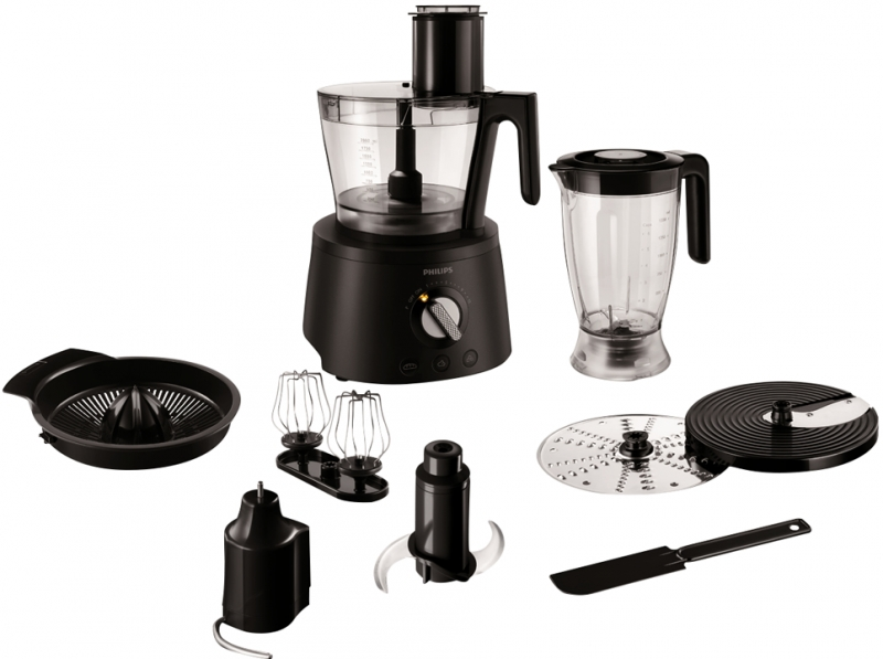 How To Use Philips Food Processor Hr