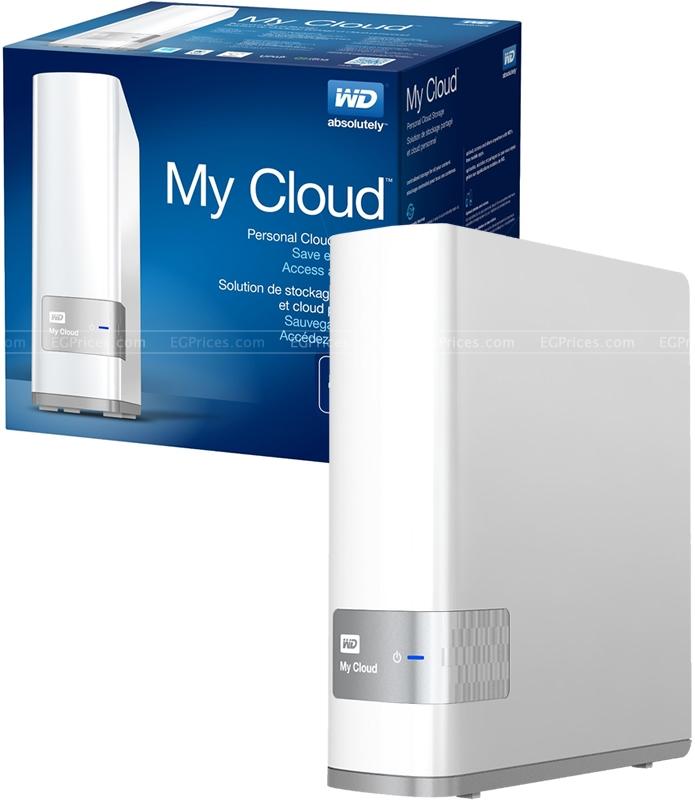Western Digital My Cloud WDBCTL0080HWT 8TB Personal Cloud Storage
