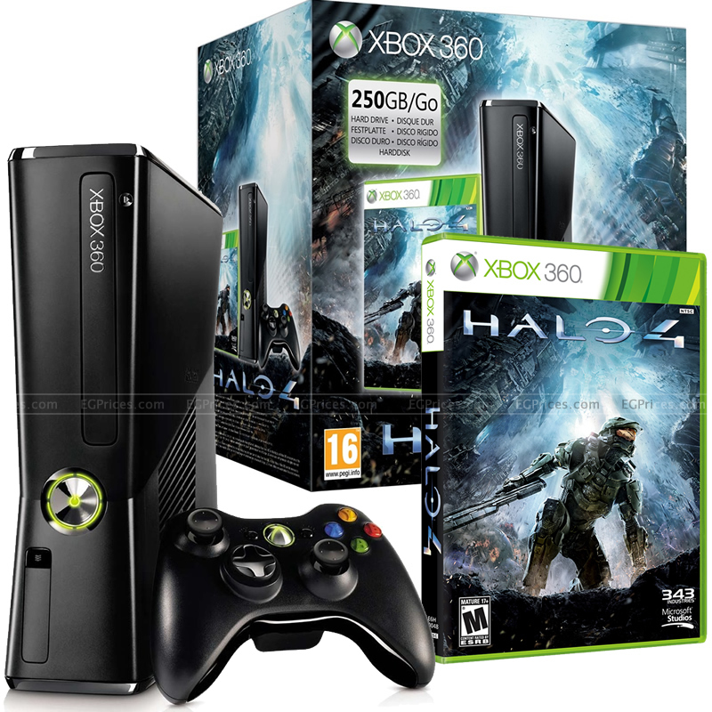 Xbox 360 250GB Console Halo 4 Bundl   Price in Egypt | East Asia