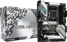 ASRock B550 Steel Legend Socket AM4 Motherboard specifications and price in Egypt