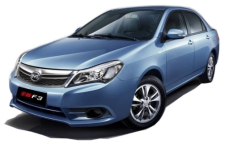 BYD F3 GL M/T 2019 specifications and price in Egypt