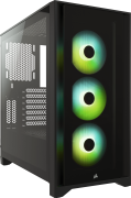 Corsair ICUE 4000X RGB Tempered Glass Black Mid Tower ATX Case specifications and price in Egypt