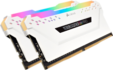 Corsair VENGEANCE RGB PRO 16GB (2 x 8GB) DDR4 DRAM 3200MHz C16 Memory Kit White specifications and price in Egypt