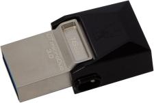 سعر و مواصفات Kingston DataTraveler MicroDuo 16GB USB 3.0 Micro USB OTG (DTDUO3/16GB) فى مصر