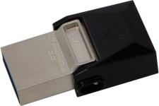 Kingston DataTraveler MicroDuo 32GB USB 3.0 Micro USB OTG (DTDUO3/32GB) specifications and price in Egypt
