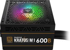 Gamdias Kratos M1 RGB 600W Power Supply specifications and price in Egypt