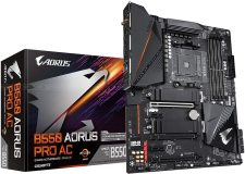 Gigabyte B550 AORUS PRO AC Socket AM4 Motherboard (rev. 1.0) specifications and price in Egypt