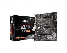 MSI A320M-A PRO MAX AM4 Motherboard specifications and price in Egypt