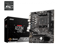 MSI A520M-A PRO AM4 Motherboard specifications and price in Egypt