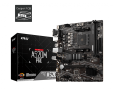 MSI A520M PRO AM4 Motherboard specifications and price in Egypt