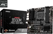 MSI B550M PRO-VDH WIFI Socket AM4 Motherboard specifications and price in Egypt
