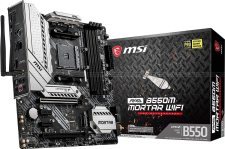 MSI MAG B550M MORTAR WIFI Socket AM4 Motherboard specifications and price in Egypt
