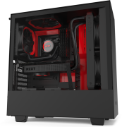 NZXT H510i Compact Mid-Tower Case Matte Black/Red specifications and price in Egypt