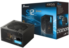 SeaSonic S12II Bronze 430W 80 PLUS Certified PSU specifications and price in Egypt