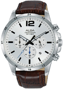 AT3E91X1 Stainless steel case and screw back Watch for Men