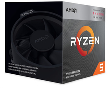 AMD RYZEN 5 3400G 4-Core 3.7GHz Socket AM4 65W Desktop Processor