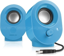 SL-800-BE 2.0 Snappy Stereo Speakers