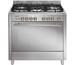 Glem Matrix MQB612 RI01AC Gas Cooker (5 Burners)