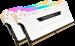 Corsair VENGEANCE RGB PRO 16GB (2 x 8GB) DDR4 DRAM 3200MHz C16 Memory Kit White