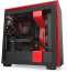 NZXT H710 Tempered Glass Mid-Tower Case Matte Black/Red