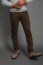 SLIM FIT CANVAS TROUSERS 42877